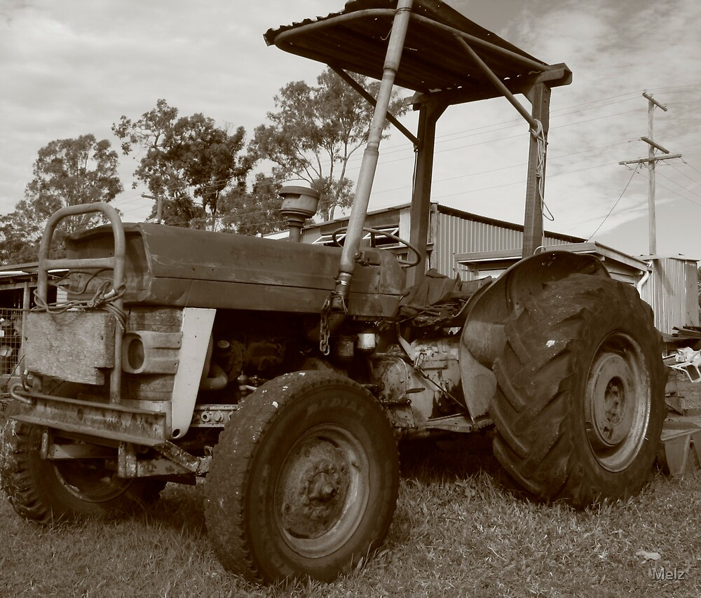 the tractor by Melz