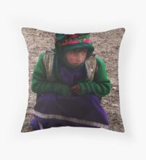 Play with me (Afghanistan) Throw Pillow