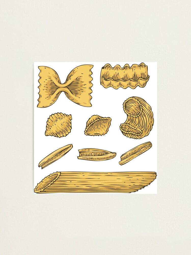 Alternate view of Pasta Photographic Print