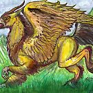 Unicorn Hippogriff by Stephanie Small