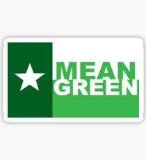 UNT Mean Green Sticker