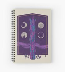 'Neath the Tower of Incomprehensible Sorcery Spiral Notebook