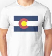 Colorado State Flag, USA T-Shirt