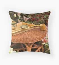 Asian Tradition Throw Pillow