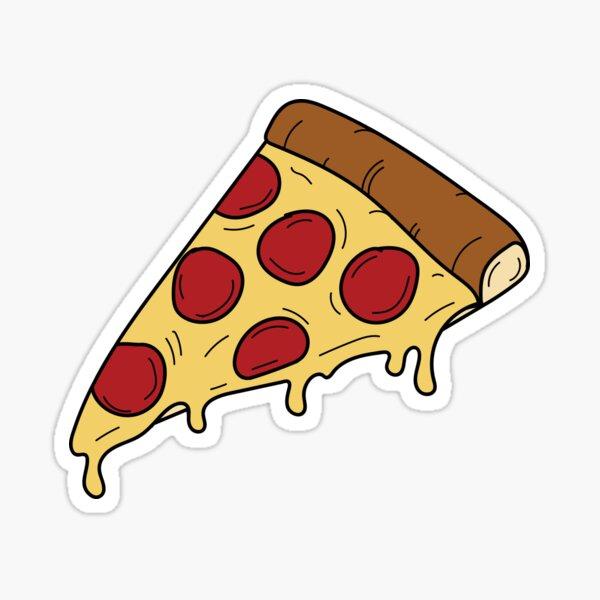 Pizza Slice - Comida Rápida Pegatina