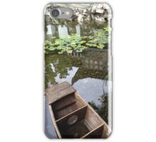 Peaceful scene from a Chinese Garden iPhone Case/Skin
