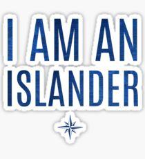 I Am An Islander Sticker