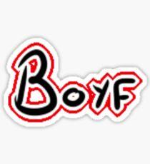 Boyf Sticker