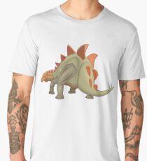 Stegosaurus Dinosaur Illustration Men's Premium T-Shirt