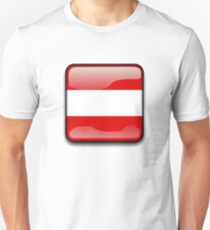 Austria Flag Icon T-Shirt