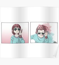 Anime Shades  Poster