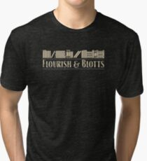 Flourish & Blotts Tri-blend T-Shirt
