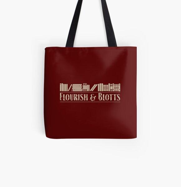Flourish & Blotts All Over Print Tote Bag