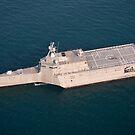 Das Küstenkampfschiff USS Independence. von StocktrekImages