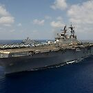 Amphibisches Angriffsschiff USS Makin Island. von StocktrekImages