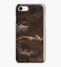 William Rush Carving His Allegorical Figure of the Schuylkill River 1876 - 1877 Thomas Eakins iPhone Case/Skin