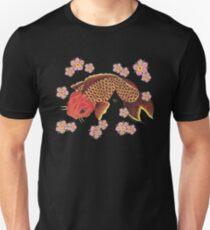 KOI IN BLOSSOMS Unisex T-Shirt