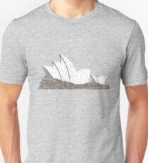 Geometric Art - Australia - Sydney Opera House T-Shirt