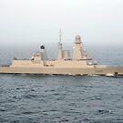 Französischer Zerstörer FS Forbin im Arabischen Meer. von StocktrekImages