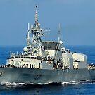 Die kanadische Patrouillenfregatte HMCS Halifax. von StocktrekImages