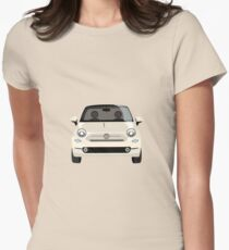 Fiat 500 Women's Fitted T-Shirt