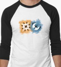 Pokemon Ultra Sun and Pokemon Ultra Moon Logo Men's Baseball ¾ T-Shirt
