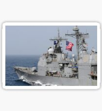 Ticonderoga-class guided-missile cruiser USS Chancellorsville. Sticker