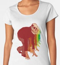 Racing Rainbow Skeletons Women's Premium T-Shirt