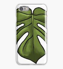 Monster Monstera iPhone Case/Skin
