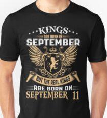 Kings Legends Are Born On September 11 T-Shirt