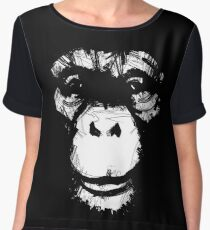 Everything's More Fun With Monkeys Women's Chiffon Top
