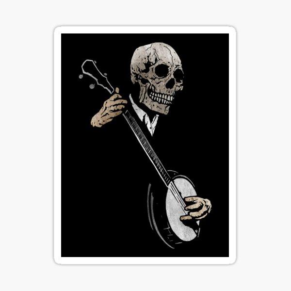 Skullboys' Banjo Blues Sticker