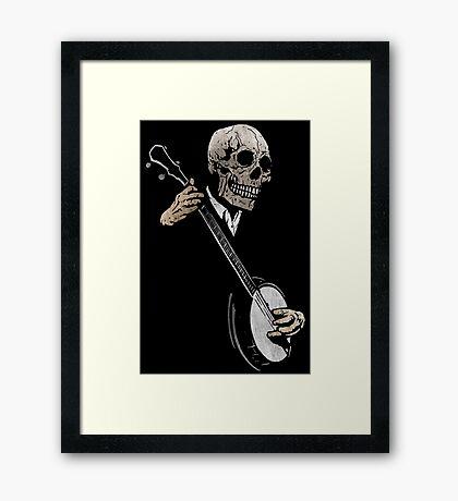 Skullboys' Banjo Blues Framed Print