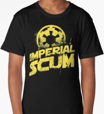 imperial scum funny parody movie new rebel bad people humor Long T-Shirt