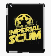 imperial scum funny parody movie new rebel bad people humor iPad Case/Skin