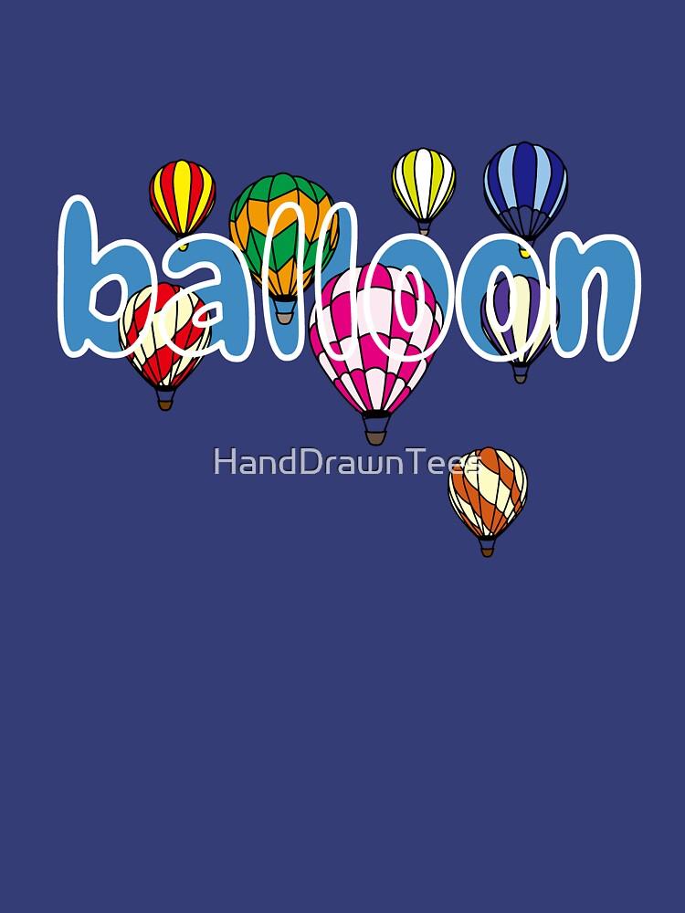 Balloon - Hot Air Hobby by HandDrawnTees