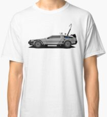The DeLorean Time Machine, Back to the Future Classic T-Shirt