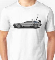 The DeLorean Time Machine, Back to the Future T-Shirt