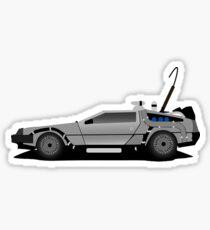 The DeLorean Time Machine, Back to the Future Sticker