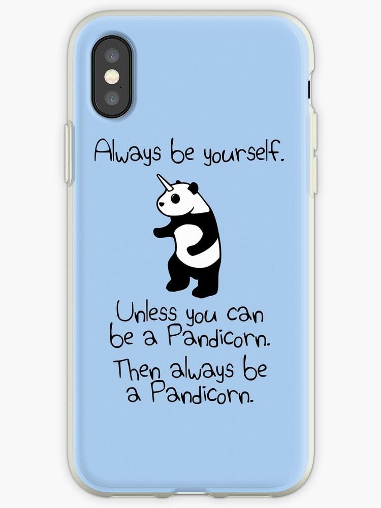 Sei immer du selbst, es sei denn du kannst ein Pandicorn sein von jezkemp