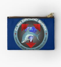 Clan Diamond Shark: DSX Zipper Pouch