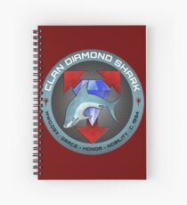 Clan Diamond Shark: DSX Spiral Notebook