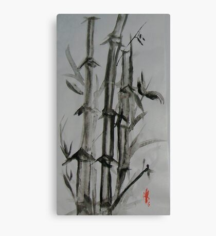 Bamboo #1 Canvas Print