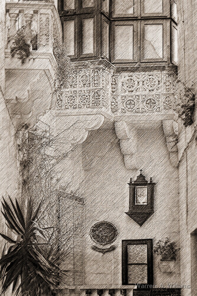 Alley by Warren. A. Williams