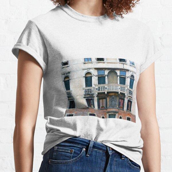 Detailed classical Italian building facade Classic T-Shirt