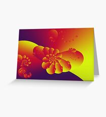 Floral Evolution 003.23.2.g4-280 Greeting Card