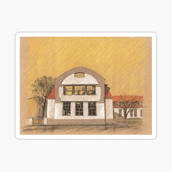 Van de Velde - Bauhaus-University in Weimar Sticker