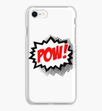 POW! Comic Bubble iPhone Case/Skin