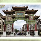 Chinese Arch - Liverpool - Hand Tinted by Fotopia