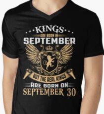 Kings Legends Are Born On September 30 T-Shirt
